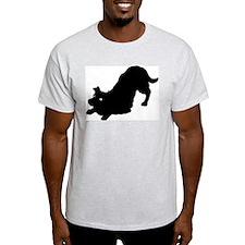 Border Collie Ash Grey T-Shirt