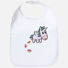 Unicorn Sweets Bib