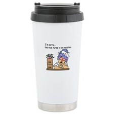 Nurse on Vacation Travel Mug