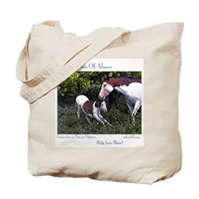 Abaco wild Mare and Filly Tote Bag