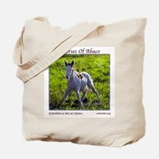 Young Abaco Filly Tote Bag