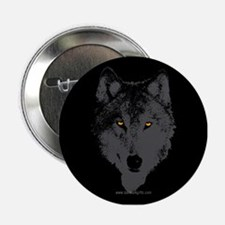 """The Wolf... 2.25"""" Button"""