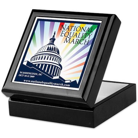 National Equality March Keepsake Box