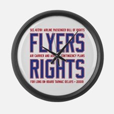 Flyers Rights Large Wall Clock