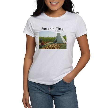 Half Moon Bay Pumpkins Women's T-Shirt