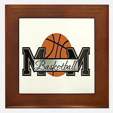 Basketball Mom Framed Tile