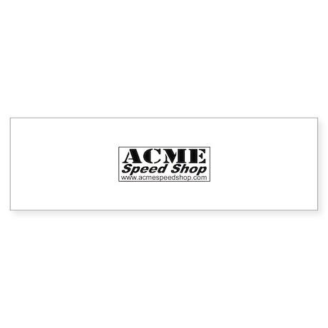 Acme Speed Shop T shirt Bumper Sticker