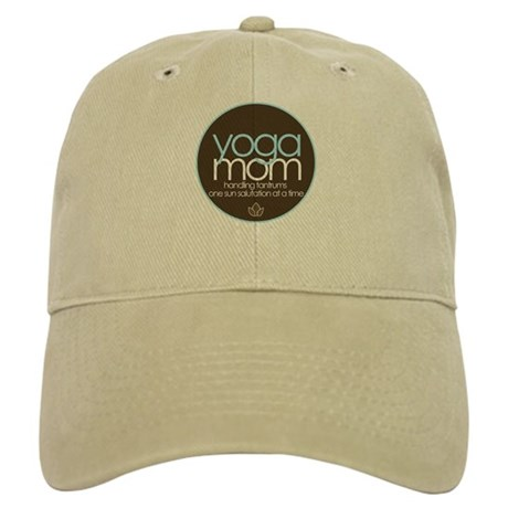 yoga mom t-shirt Cap