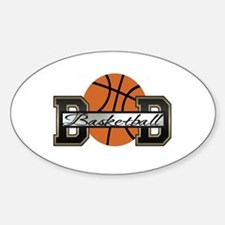Basketball Dad Oval Decal