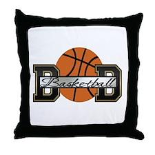 Basketball Dad Throw Pillow