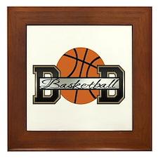 Basketball Dad Framed Tile