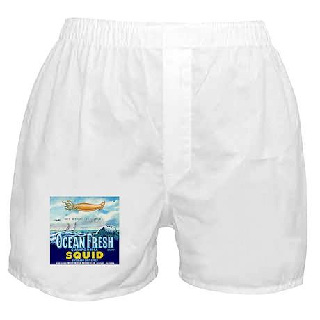 Vintage Squid Label 1 Boxer Shorts
