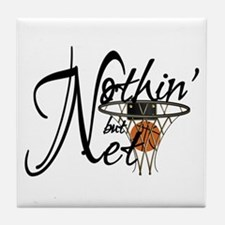 Nothin' But Net Tile Coaster