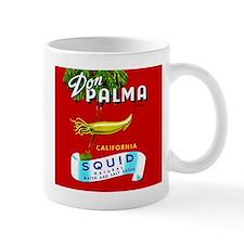 Squid Label 2 Small Mug