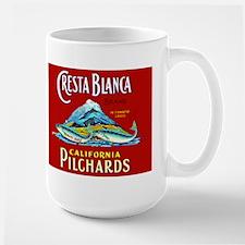 Crest Blanca Sardine Label Mug