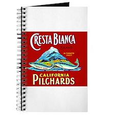 Crest Blanca Sardine Label Journal
