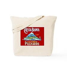 Crest Blanca Sardine Label Tote Bag