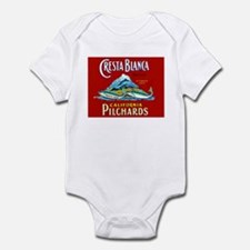 Crest Blanca Sardine Label Infant Bodysuit