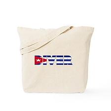 Diver: CUBA Tote Bag