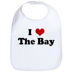 I Love The Bay Bib