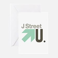 J Street U Greeting Cards (Pk of 10)