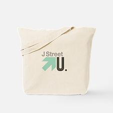 J Street U Tote Bag