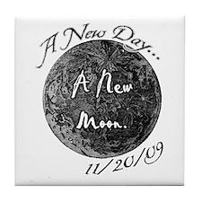 A New Moon 11/20/09 Tile Coaster