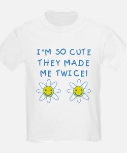 So Cute Made Twice TWINS T-Shirt