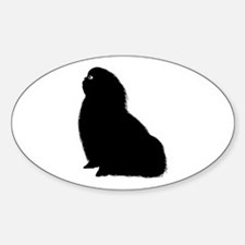 English Toy Spaniel Oval Decal