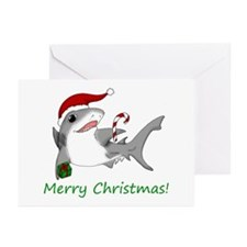 Christmas Shark Greeting Cards (Pk of 10)