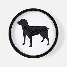 Entlebucher Sennenhund Wall Clock