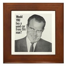 Nixon Used Car Framed Tile