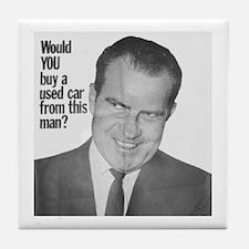 Nixon Used Car Tile Coaster