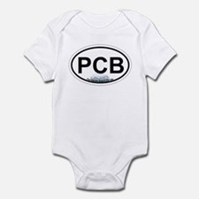 Pensacola Beach Oval Design Infant Bodysuit