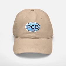 Pensacola Beach Oval Design Baseball Baseball Cap