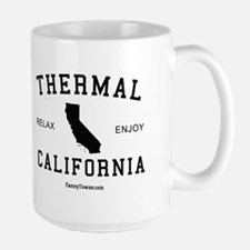 Thermal CA T-shirts Large Mug