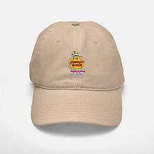 """Pensacola Beach """"Welcome Sign"""" Design Baseball Baseball Cap"""