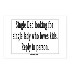 Single Dad Ad Postcards (Package of 8)