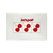 Jackpot! Rectangle Magnet