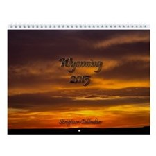 Wyoming Bible Verse 2015 Wall Calendar