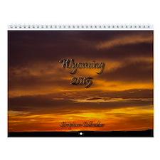 Wyoming Bible Verse 2015 Wall Calendar