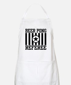 Beer Pong Referee BBQ Apron