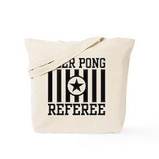 Beer Pong Referee Tote Bag