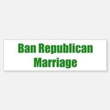 Ban Republican Marriage
