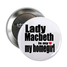 "Lady M 2.25"" Button"