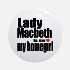 Lady M Ornament (Round)
