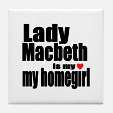 Lady M Tile Coaster