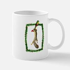 Holiday Squirrel with Beer Mug