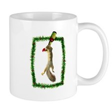 Holiday Squirrel with Beer Mug