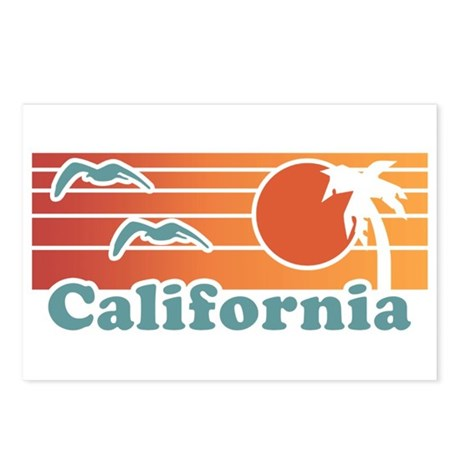 California Postcards (Package of 8)